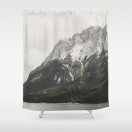 Such great Heights - Landscape Photography Shower Curtain