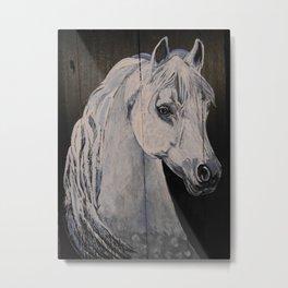 Ghost Horse Metal Print