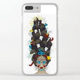 The Voodoo Queen Clear iPhone Case