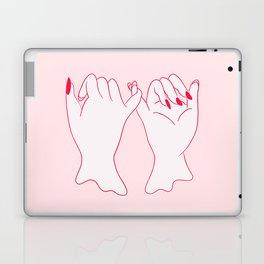 pinkie promise Laptop & iPad Skin