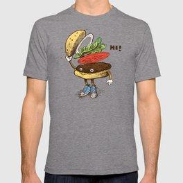 Burger Greeting T-shirt