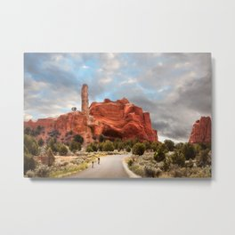 A Ride in Kodachrome Basin State Park close to sunset Metal Print