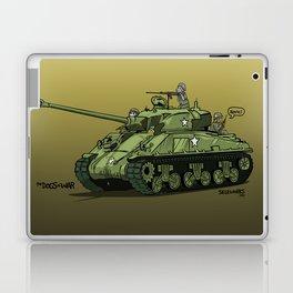 Dogs of War: Sherman Tank Laptop & iPad Skin