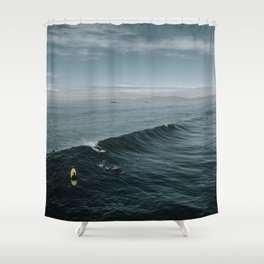 Summer Surf Session Shower Curtain
