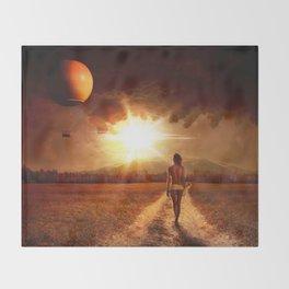 Landscape Throw Blanket