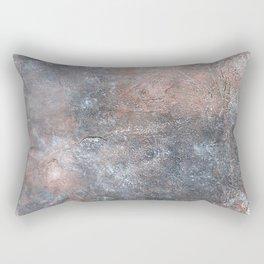Burned Copper A Rectangular Pillow