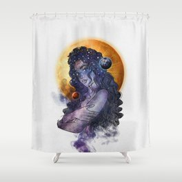 The queen of universe. Shower Curtain