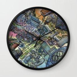 Astana future Wall Clock