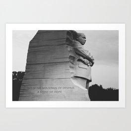 A Stone of Hope Art Print
