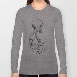 INK SKELETON Long Sleeve T-shirt