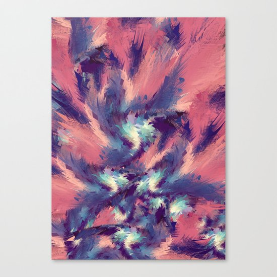 Colorful Energy Canvas Print