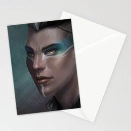 Peacock Punk Stationery Cards