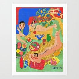 Rays of Summer Art Print