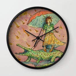 The End of the World - Meteor Wall Clock