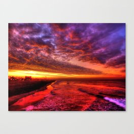 Dawn In Southern California Canvas Print