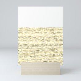 Riverside Gold Mini Art Print