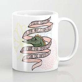 Courage the Cowardly Dog Bathtub Barracuda Coffee Mug