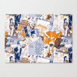 THE SACRED CITY Canvas Print