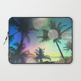 Summer Dreams : Pastel Palm Trees Laptop Sleeve