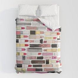 Lipstick War Comforters