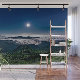 Moonlight Sonata Mountainous Clouds Photographic Wall Mural