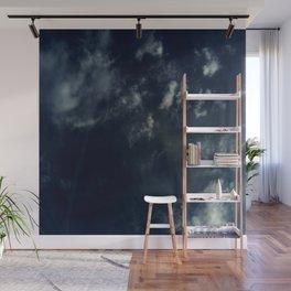 Cloud and sky 13 -cloud, sky, blue, positive,optimism Wall Mural