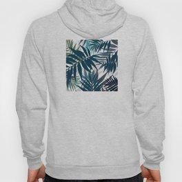 Shadow palm tree leaves Hoody