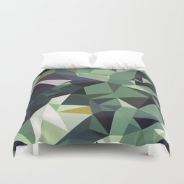 Martinique Low Poly Duvet Cover