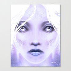 Christmasface Canvas Print