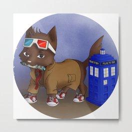 Doctor Wolf 10th Metal Print