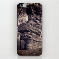 Rock in a mystical forest iPhone & iPod Skin