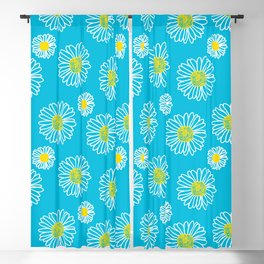 Daisies Galore Blackout Curtain