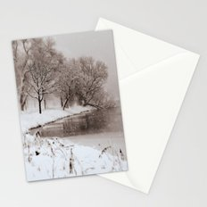 Snow Lake Stationery Cards