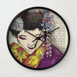 Our Lady of Edo  Wall Clock