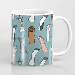 Unite Animal Equality Fists Coffee Mug