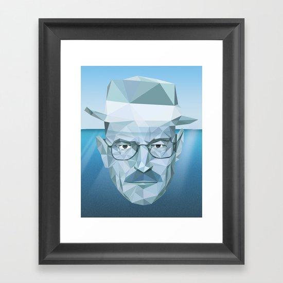 Tip of the Heisenberg Framed Art Print