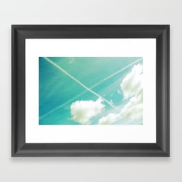 Scottish sky 2594 Framed Art Print