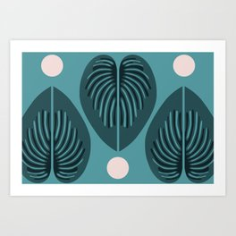 Hjärtblad Art Print