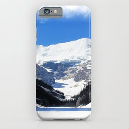 Lake Louise in Banff National Park iPhone Case