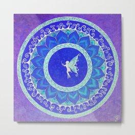 Fairy Garden orchid Metal Print