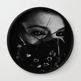 the end is beautiful Wall Clock