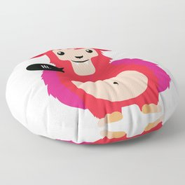 HI! - Cute red cow Floor Pillow