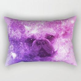 French Bulldog Christmas Holidays Rectangular Pillow