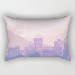 Sleeping City Rectangular Pillow