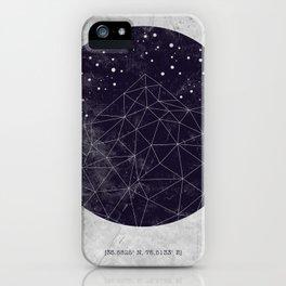 Geo Mountain iPhone Case