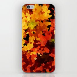 Yellow and Red Sunflowers iPhone Skin