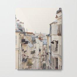 Montmartre Mon Amour - Paris Photography Metal Print