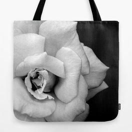 Rose Monochrome Tote Bag