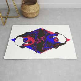 The Comedy of Twins Rug