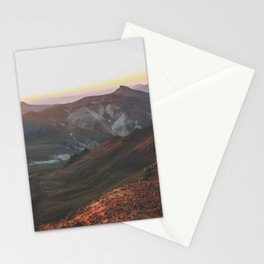 View from Wetterhorn Peak Stationery Cards